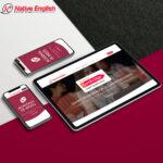 diseño web de native english